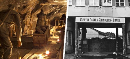 Salt Mine and Schindler's Factory